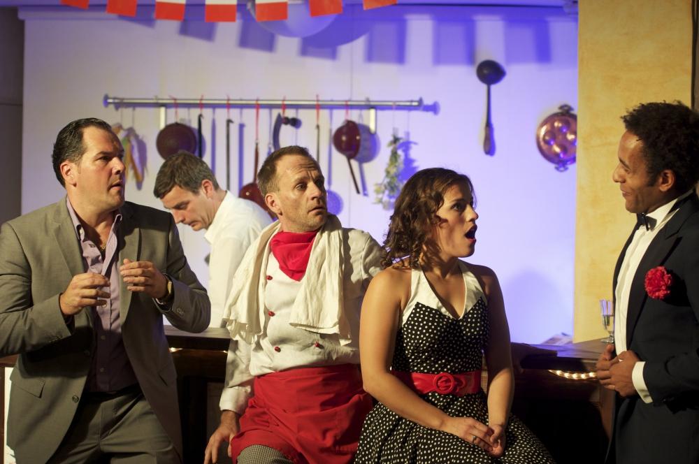 Pizza? Basta! \ Christoph Wieschke, Marco Dott, Shantia Ullmann und Peter Marton