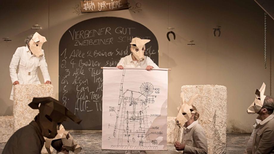 Farm der Tiere / Ensemble