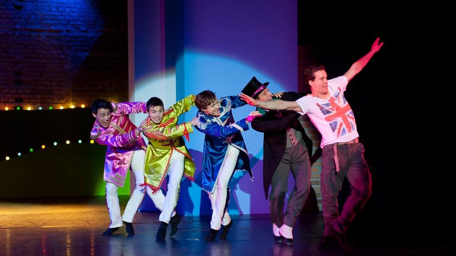 Beatles Tanzabend / Sam Chung, Marian Meszaros, Alexander Korobko, Josef Vesely und Asher Smith