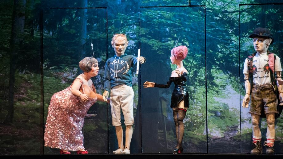 Die Zauberflöte im Marionettentheater