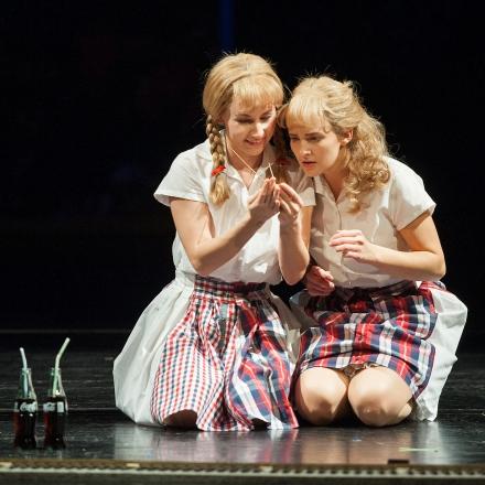 Das doppelte Lottchen / Tina Haas und Hanna Kastner