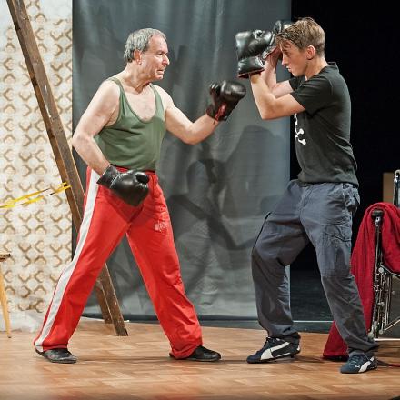 Das Herz eines Boxers / Werner Friedl und Tim Oberließen