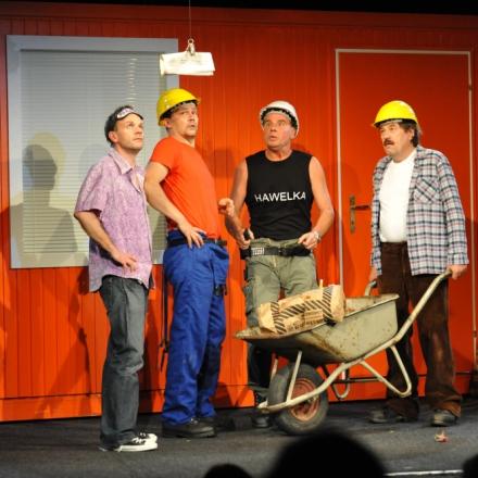 Die Golden Boys von der Baustelle / Ensemble