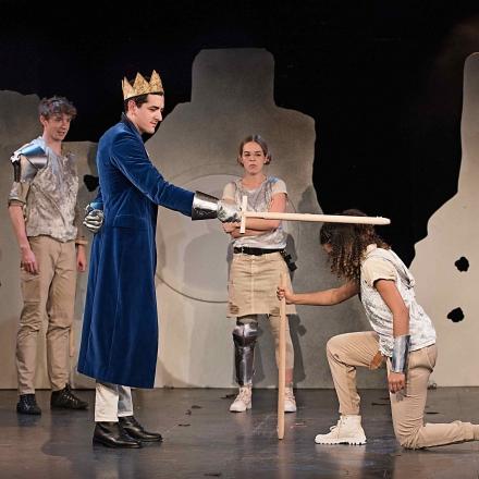 King A / Gregor Schulz, Hanno Waldner, Nikola Rudle und Elisa Afie Agbaglah