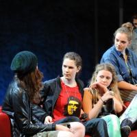 Magdalena Lermer, Elisabeth Ferch, Friederike Wartenberg, Milena Schedle und Laura Kuhr