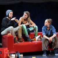 – Lisa Katholnig, Friederike Wartenberg und Milena Schedle © Christina Canaval
