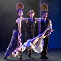 – Asher Smith, Alexander Korobko, Vladislav Koltsov und Anna Yanchuk © Christina Canaval