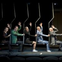 – Aris Sas, Sacha Oskar Weis, Britta Bayer, Marco Dott, Georg Clementi und Axel Meinhardt © Christina Canaval