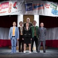 – Marco Dott, Aris Sas, Axel Meinhardt, Britta Bayer, Sascha Oskar Weis und Georg Clementi © Christina Canaval