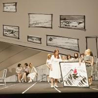– Heike Grötzinger, Julie Makerov und Chor © Christian Schneider