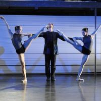 Adagio: Anna Yanchuck, Josef Vesely und Liliya Markina