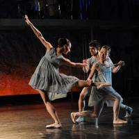 – Bachininando: Stephanine Ricciardi, Hudson de Oliviera und Eriko Abe © Jürgen Frahm
