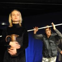 – Antigone: Unterberger, Fischer und Kaghanovic © Jürgen Frahm