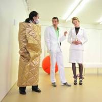 – Brigitte Karner, Tim Oberließen und Britta Bayer © Jürgen Frahm