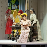– Zhala Ismailova, Anna Maria Dur und Chor © Christina Canaval