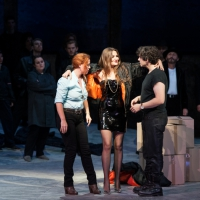 – Elena Stikhina, Oksana Volkova, Andeka Gorrotxategi und Chor © Anna-Maria Löffelberger