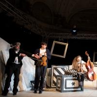 – Marcus Bluhm, Hanno Waldner, Janina Raspe und Walter Sachers © Anna-Maria Löffelberger