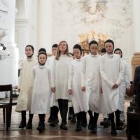 – Mirga Gražinyte-Tyla und Kinderchor © Anna-Maria Löffelberger