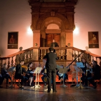 – Adrian Kelly, Franz Supper und Barock-Ensemble © Anna-Maria Löffelberger
