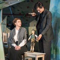 – Katharina Halus, Marionette Joseph Mohr und Hanno Waldner © Christina Baumann-Canaval
