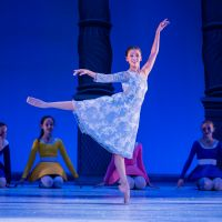 – Karine de Matos, Schülerinnen der SIBA Ballettschule © Tobias Witzgall