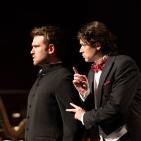 – Luke Sinclair und Raimundas Juzuitis © Anna-Maria Löffelberger
