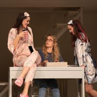– Olivia Cosio, Laura Incko und Hazel McBain © Anna-Maria Löffelberger