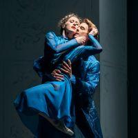 – Harriet Mills (Anna Karenina), Klevis Neza (Wronski)  © Anna-Maria Löffelberger