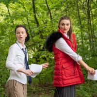 – Lisa Fertner und Julia-Elena Heinrich © Anna-Maria Löffelberger