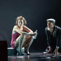 – Patrizia Unger (Sally Bowles) und Skye MacDonald (Clifford Bradshaw) © Anna-Maria Löffelberger