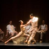 – Chigusa Fujiyoshi und Cassiano Rodrigues, Ensemble © Tobias Witzgall / SLT