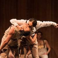 – Lucas Leonardo und Valbona Bushkola, Ensemble © Tobias Witzgall / SLT