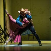 – Klevis Neza (Wronski), Harriet Mills (Anna Karenina) © SLT / Anna-Maria Löffelberger