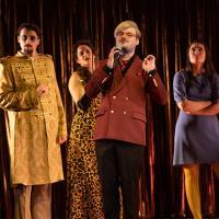 – Raimundas Juzuitis, Anne-Fleur Werner, Alexander Hüttner und Olivia Cosío © SLT / Anna-Maria Löffelberger