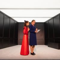 – Judith Mahler und Britta Bayer © SLT / Tobias Witzgall