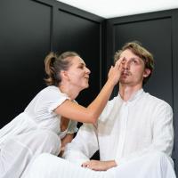 – Patrizia Unger und Skye MacDonald © SLT / Tobias Witzgall