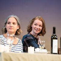 – Anja Clementi und Lisa Fertner © SLT / Tobias Witzgall