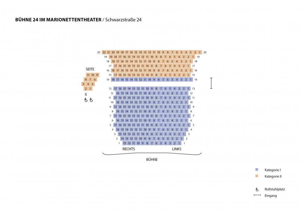 Saalplan Bühne 24